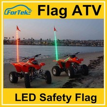 6 feet Atv Utv Truck LED Wh*ip Light & Safety Flag- color rgb ,remote control option