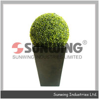 best selling plastic topiary balls decoration grass ball
