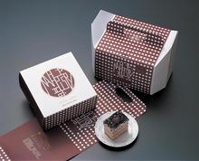 Wholesale Custom Bakery pop paper cupcake box/cake box packaging