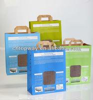 Kraft paper gift packaging