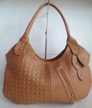 TOP selling lady handbag EXQUISITE HANDICRAFT leather handbag NEW stylish lady fashion lady handbag