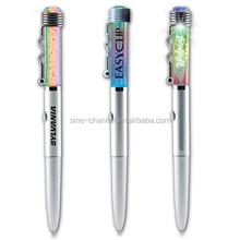 Hot Sale Cheap Fancy Multicolor LED Logo Pen