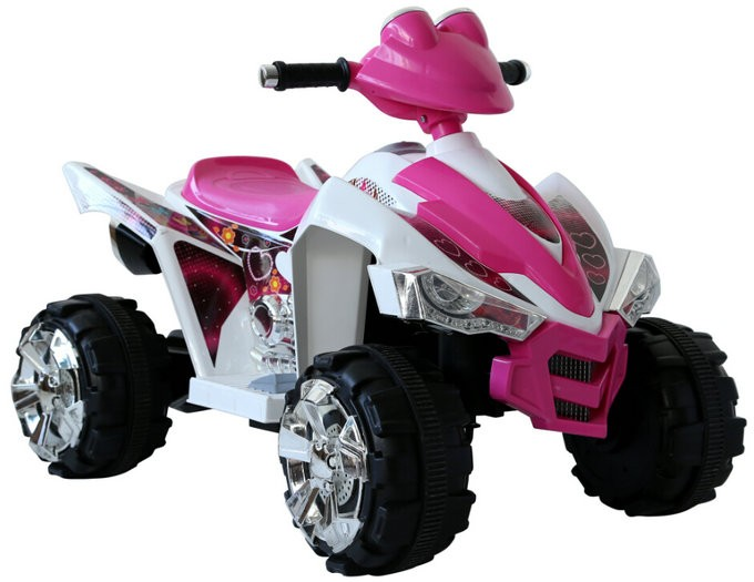 9917 pink quad back kids electric ride on car.jpg