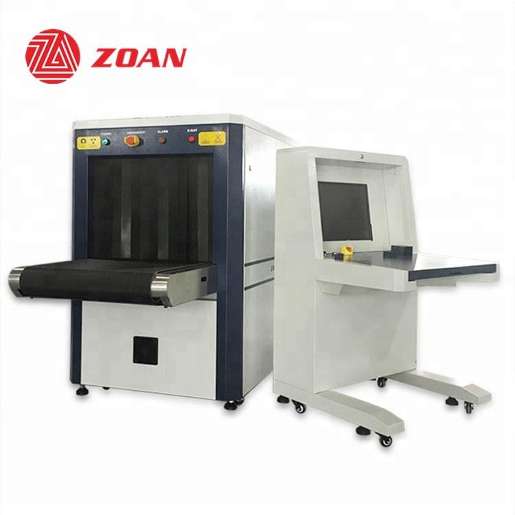 X ray bagaj tarama kargo makinesi tarayıcı ekran havaalanı/tren ve istasyonu güvenlik muayene