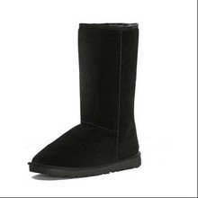 Long Style Classic Sheepskin Snow Woman Boot