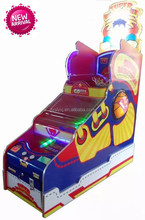 SUPER BASKETBAL deluxe coin operated redemption basketball game machine for sell/ SINGLE PLAYER or DOUBLE PLAYERS