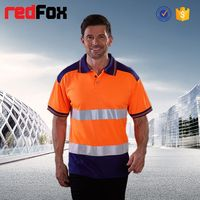 reflective safety tight fit long sleeve t shirt