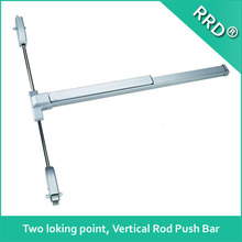 Top and Bottom Locking Full Length Push Bar, Steel Painted Device, Vertical Exit Door Lock ,RRD-152P-F ,RRD Lock