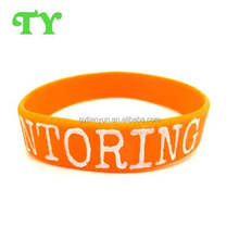 new cheap basketball 100% silicone bracelet for gift