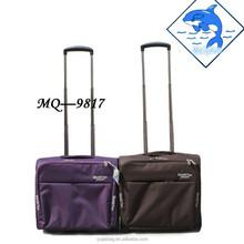 Black travel trolley luggage case , suitcase