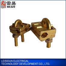 Copper U bolt electric cable clamp