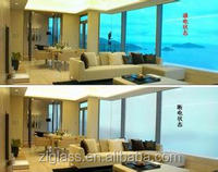 Low Opaque transparent switchable smart glass film,glass decorative film