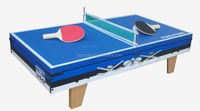 3-in-1 Combo Sports Game Table Pingpong Air Hockey Pool Kids Play Toys
