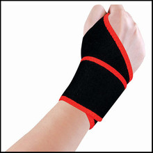 New Sports Palm Wrist Thumb Hand Wrap Support Brace Glove Elastic Gym Protector