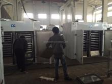 Full automatic hot-air circulating herb/tea leaf/stevia drying machine