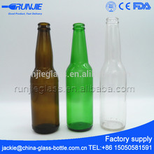 Runjiee No heavy metal Multiple Color stubby beer bottles for sale