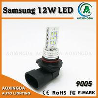 car led fog light 9005 Samsung 12W LED bulb