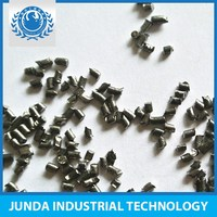 high efficient surface cleaning shot peening steel cut wire shot