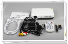 2015 led projector short throw USB HDMI mini home theater