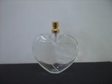 80ml empty heart shaped perfume glass bottle