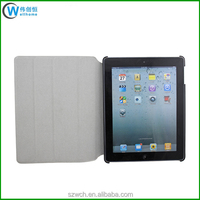 360 Rotation Stand Design Leather Flip Cover for iPad 2 3 4