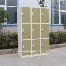 9 Doors Metal Storage Cabinet With Cyber Lock