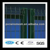 China galvanized flat panel fence gates