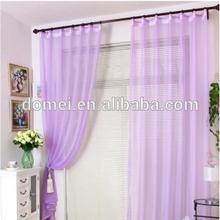 llanura cortina de seda sintética