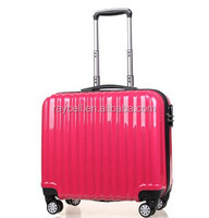 16 inch mini travel world trolley luggage travel bags / small commercial suitcase with laptop compartment