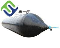 Diameter 1.8m Length 20m inflatable rubber pontoon,marine airbag