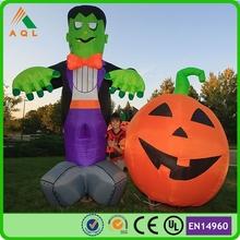 halloween pumpkin light decorations/ lowes halloween inflatables/ halloween air blown inflatables