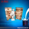 Borracha de silicone para molde cimento