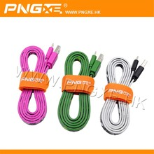 superior quality best selling multi purpose low profile light up usb charging cable