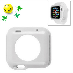 Trade assurance Solid color protective TPU case for apple watch case 38mm