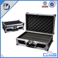 customed high quality handle aluminum tool case tool box with sponge