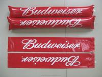 Inflatable cheering sticks/ Inflatable noisemaker sticks / PE bangbang stick