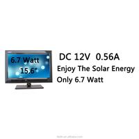 15.6 inch led tv,6.7 watt solar tv,Low power consumption,