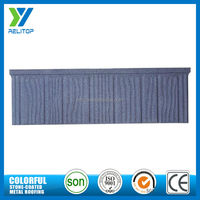 Interlocking sand stone coated steel roofing tile/stone chip coated roofing sheet