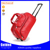 factory price new design travel trolley bag PU material waterproof lightweight carry on travel bags for ladies