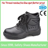 SF855 mens safety footwear black cheap steel toe work boots