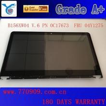 Wholesale Touch Screen Led Display B156XW04 V6 FRU 04Y1275 For IDEAPAD 9580 9585