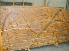 Rainforest yellow marble 2cm slabs