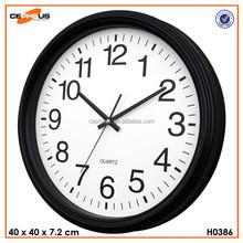 """16"""" Quartz Plastic Wall Clock"""