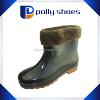 factory OEM High quality pvc work safety boots men