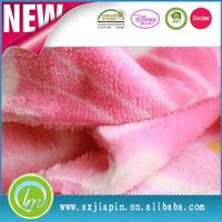 Excellent quality stylish polyester train printed fleece fabric