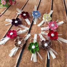 stretch flower headbands many colors toddler infant headband with fabric flower
