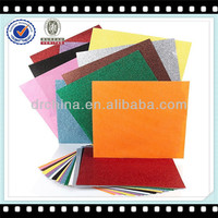 Colorful DIY Glitter Paper Wholesales Glitter Cardsock Paper