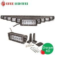 4x4 offroad led spot light bar, Osram hyper 4d 500w 52 inch offroad led spot light bar