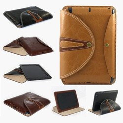 Luxury Smart Stand PU Leather 360 Rotating Case Cover For Apple iPad 2 3 4 /Mini