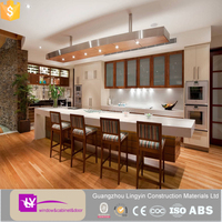 modern kitchen cupboard soft closing white lacquer small kitchen cabinet with glass doors
